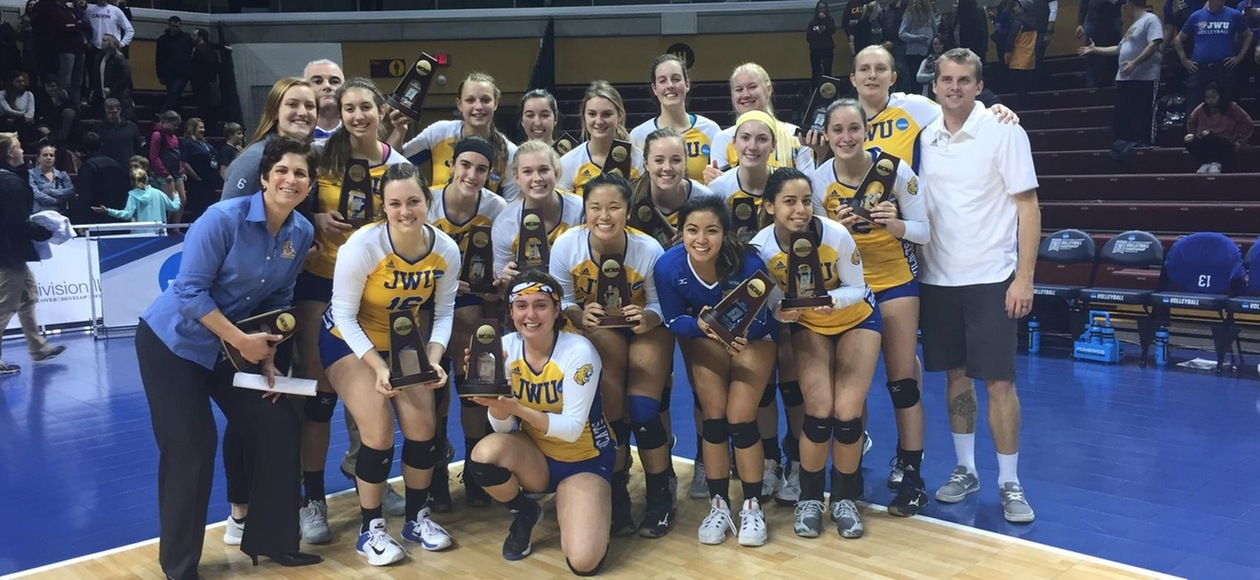 Volleyball's Magical Season Ends with 3-0 Loss to Calvin in NCAA Elite Eight