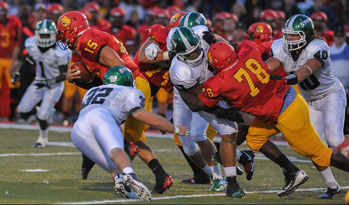 Ferris State Football Outlasts Lake Erie For 56-49 Win In Home & Conference Opener