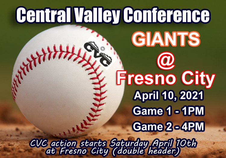 CVC Opening Day April 10, 2021 (Double Header)