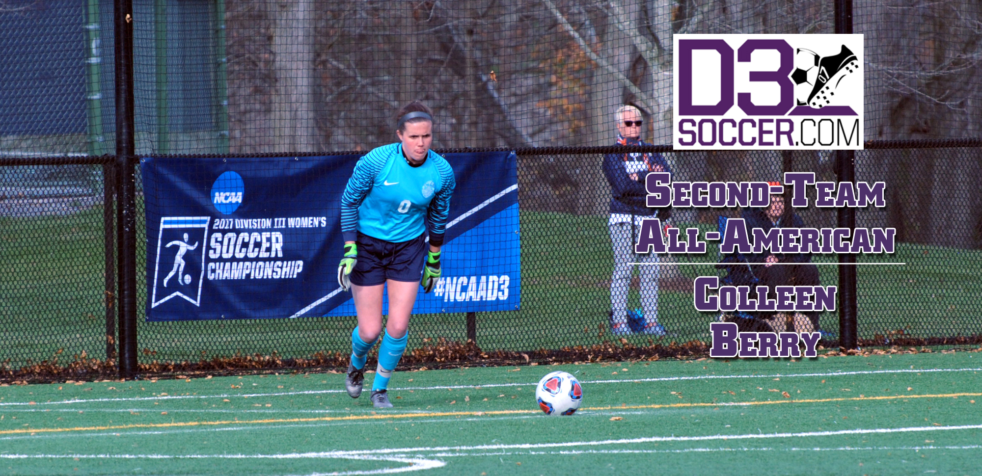 Berry Named Second-Team All-American By D3Soccer