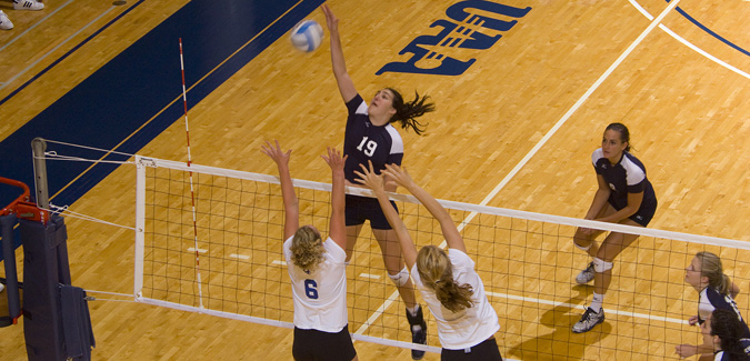 Jessica McAlvany Named UAA Volleyball Co-Player Of The Week
