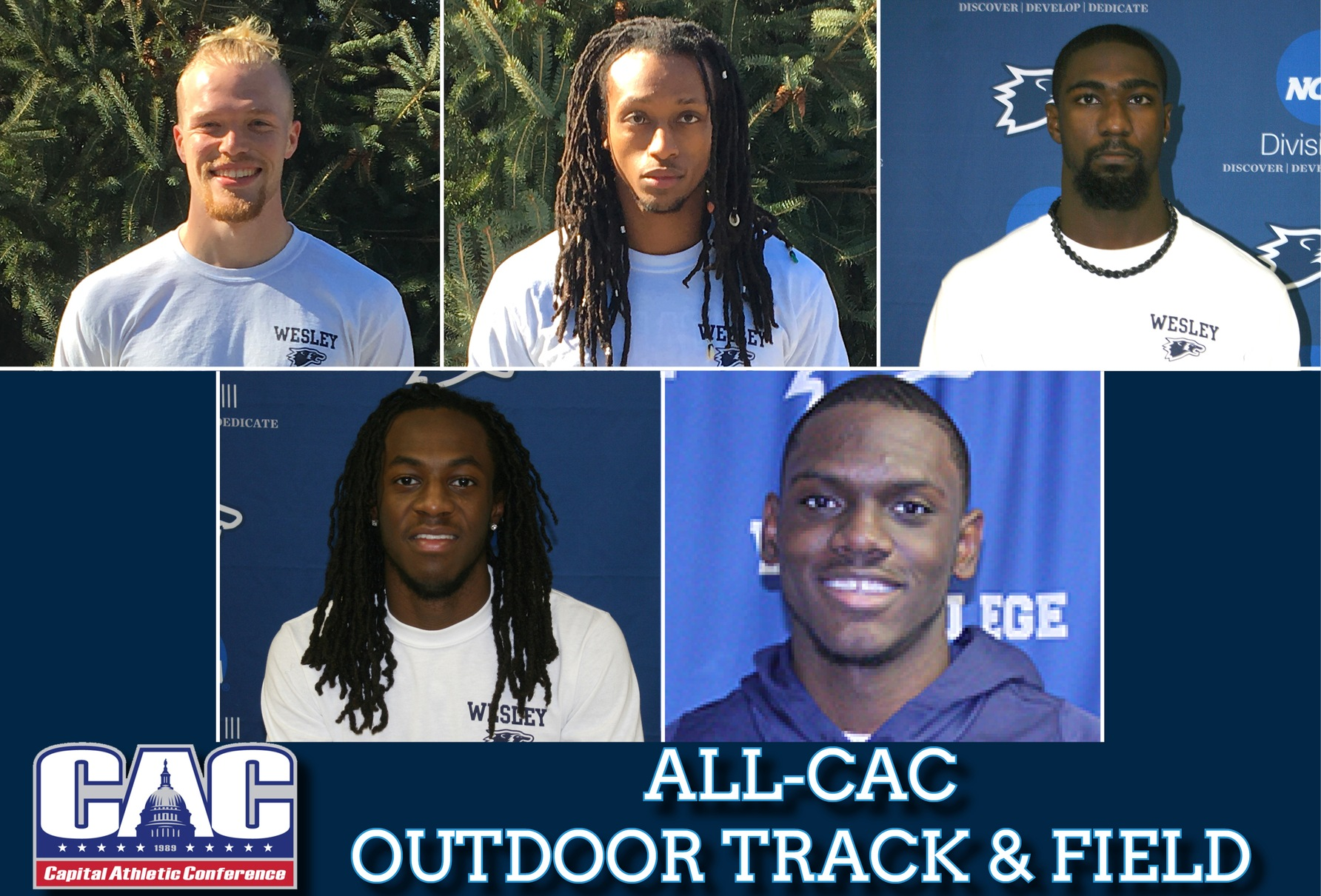 Five Wolverines pick up All-CAC honors