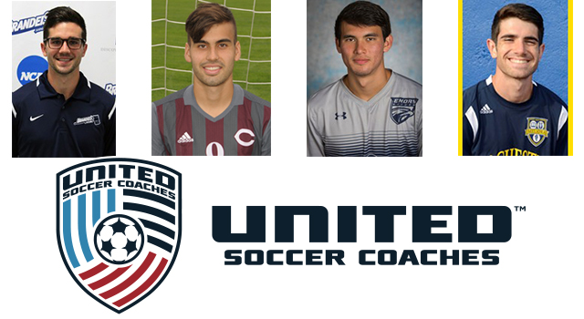 Four UAA Men Named United Soccer Coaches All-Americans