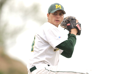 Graves named CC Pitcher of the Week