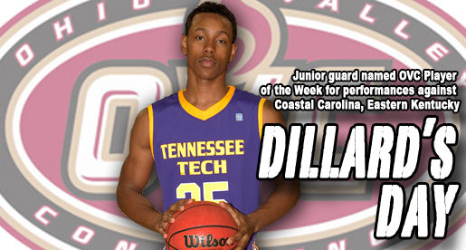 Dillard named OVC Player of the Week