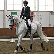 Photo of an MHC Dressage rider.