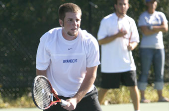 Men's tennis drops 7-2 decision at MIT in UAA tune-up