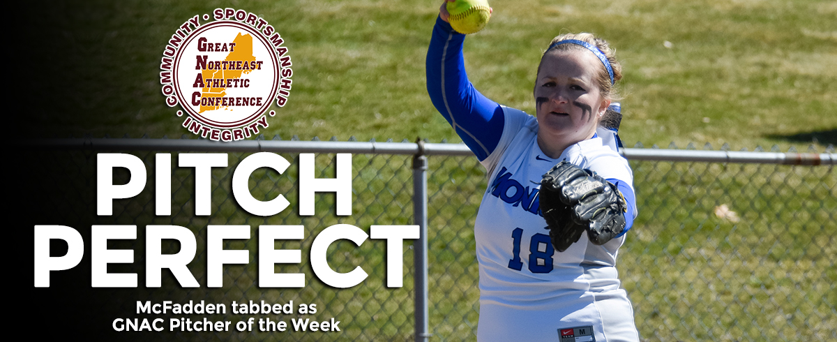 McFadden Earns GNAC Pitcher of the Week Honors