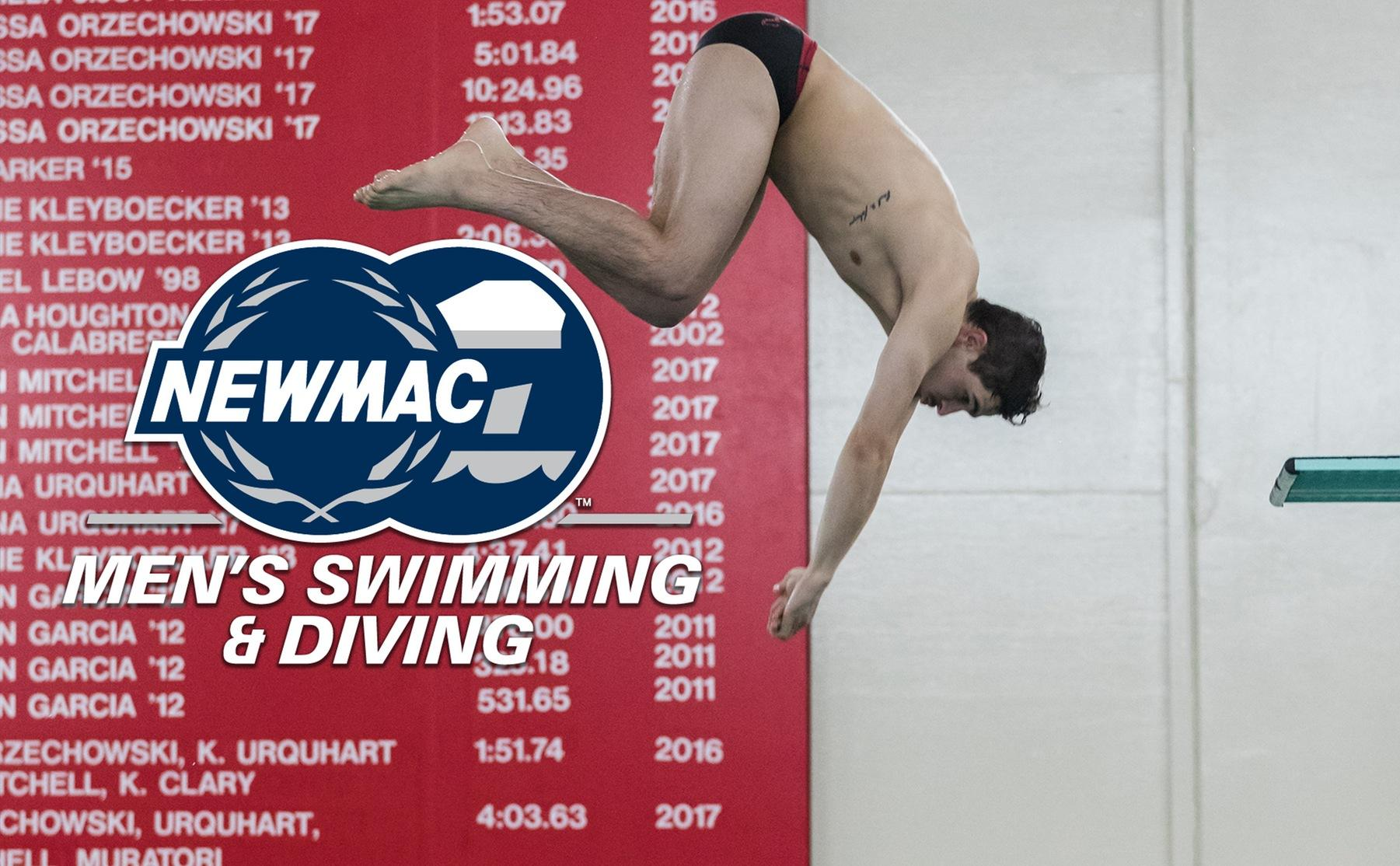 Castiglione Named NEWMAC Men's Diver of the Week