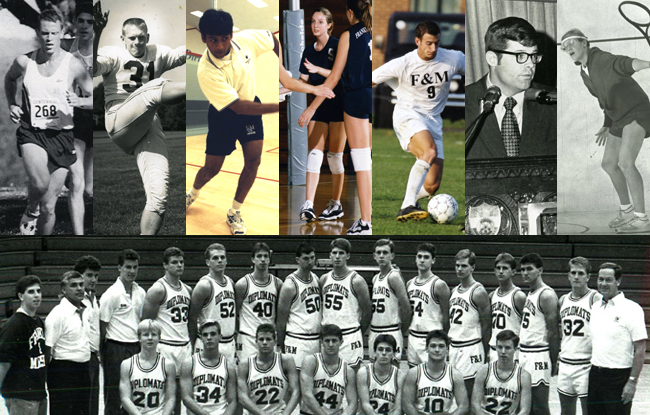 2013 F&M Athletic Hall of Fame Inductees Announced