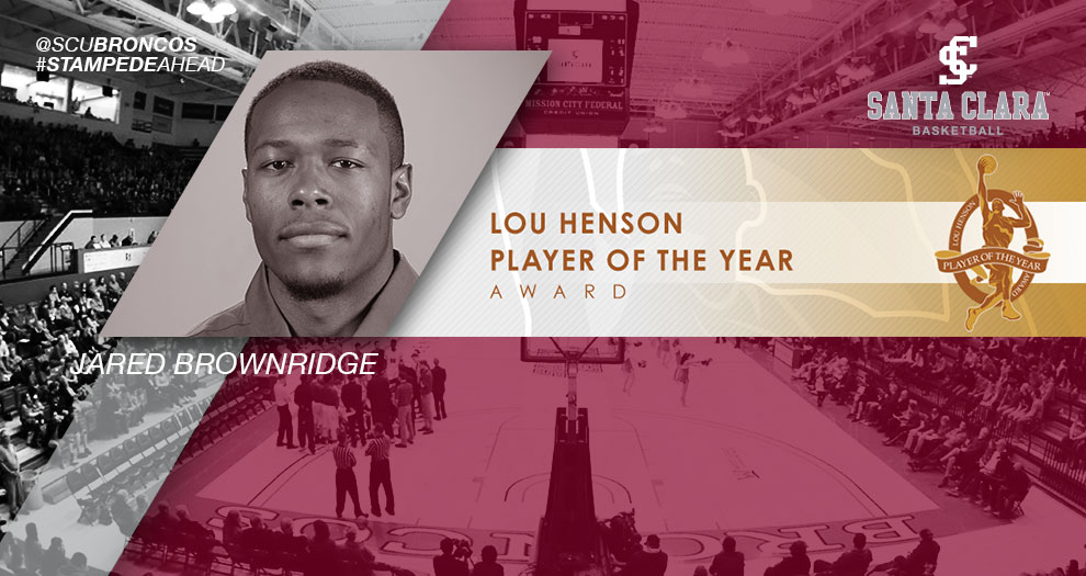 Men's Basketball's Brownridge Named to Lou Henson Award Watch List