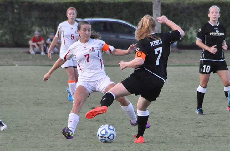 Women's Soccer: Andrea Richard named to NSCAA Women's Scholar All-South Region