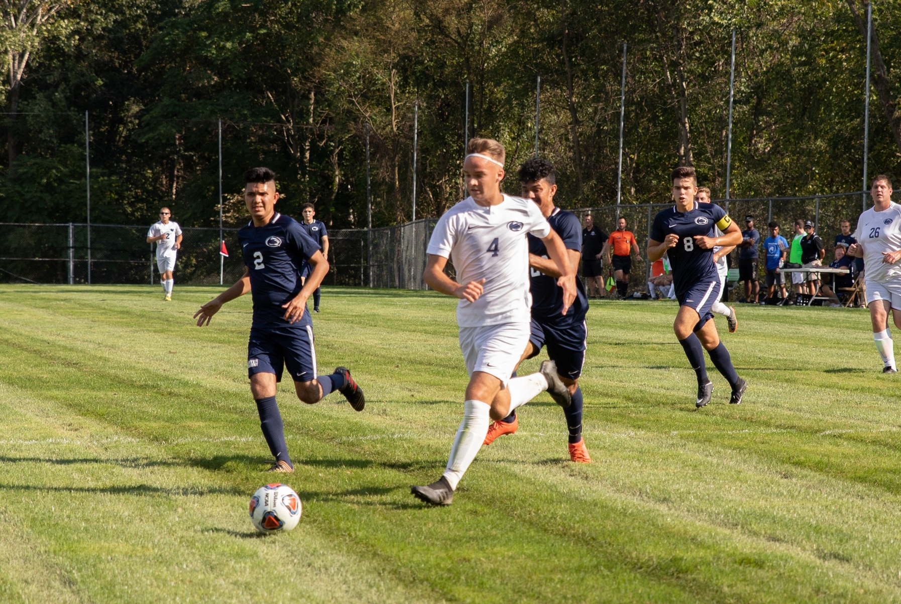 Men's Soccer Earns First PSUAC Win Against York