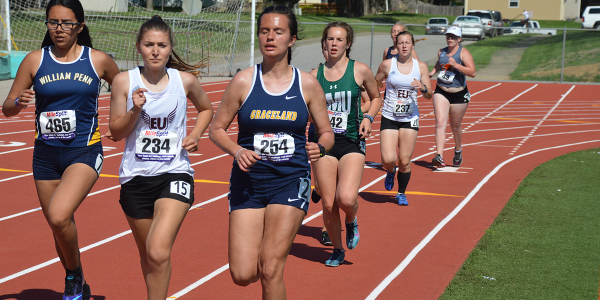 Middle Distance Runners Earn Top Marks at Conference Championships