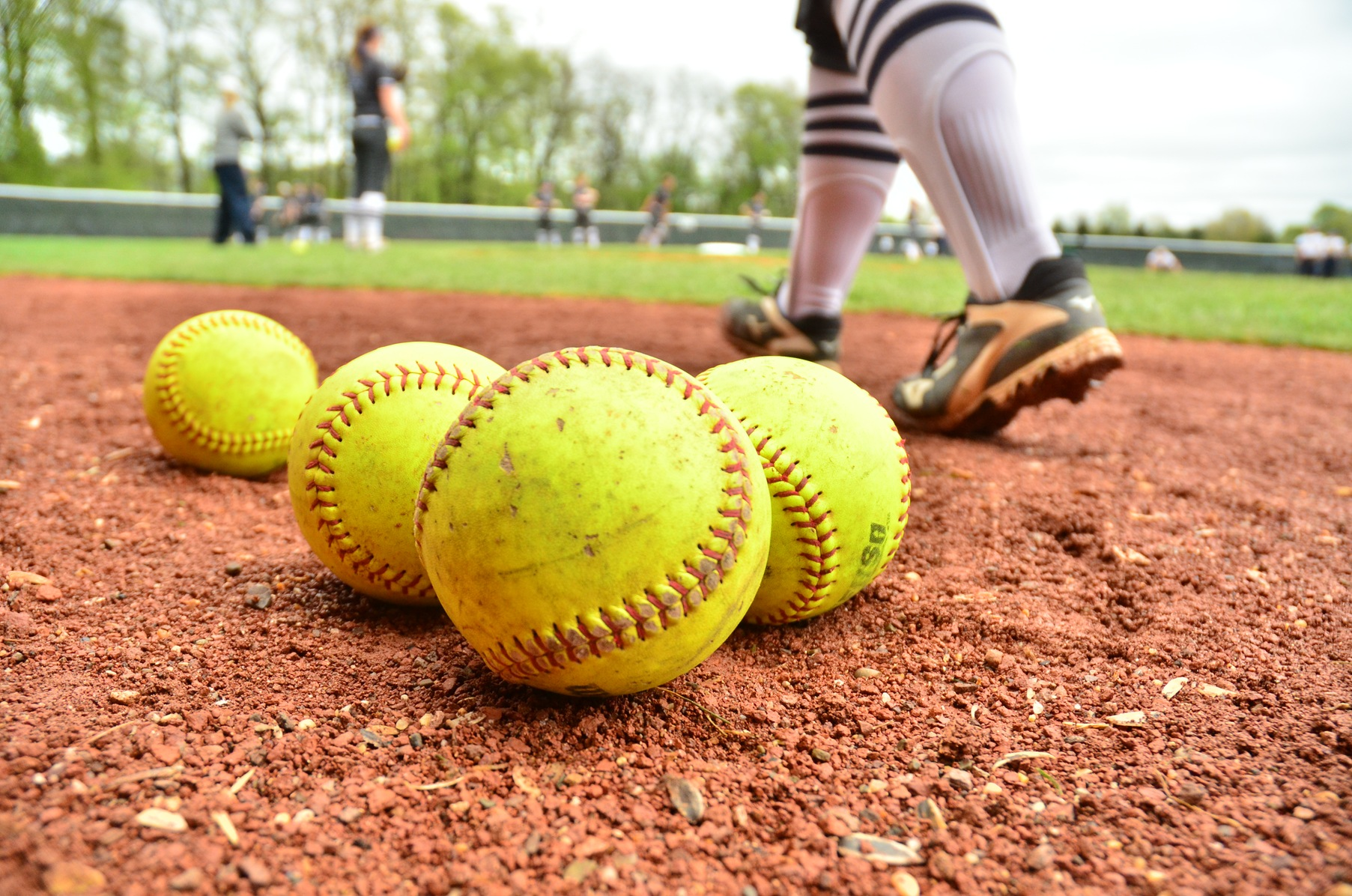 Softball Doubleheader Postponed