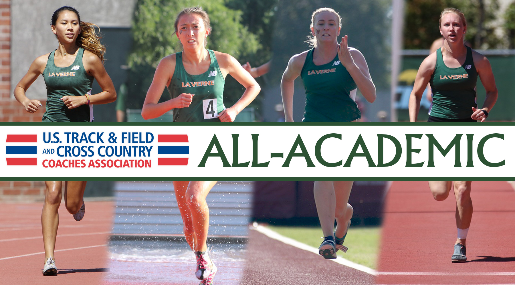 Four Leopards earn USTFCCCA All-Academic Honors