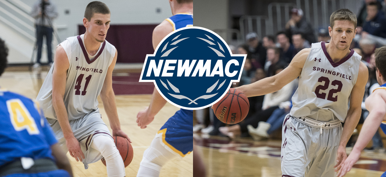 Post and Ross Collect NEWMAC Men's Basketball Weekly Accolades