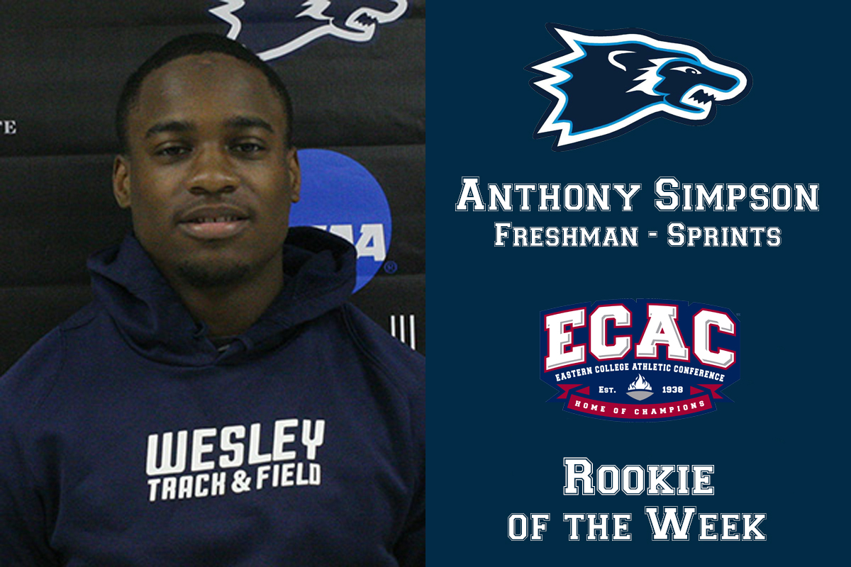 Simpson Named ECAC Rookie of the Week
