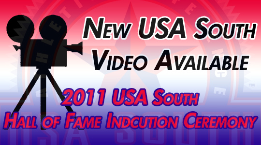 NEW VIDEO: 2011 USA South Hall of Fame Ceremony