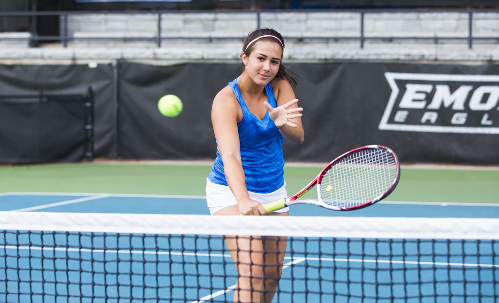 Women's Tennis Tops CMU, 5-1, to Advance to UAA Title Match