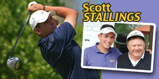 Former Golden Eagle Scott Stallings qualifies for 2011 PGA Tour
