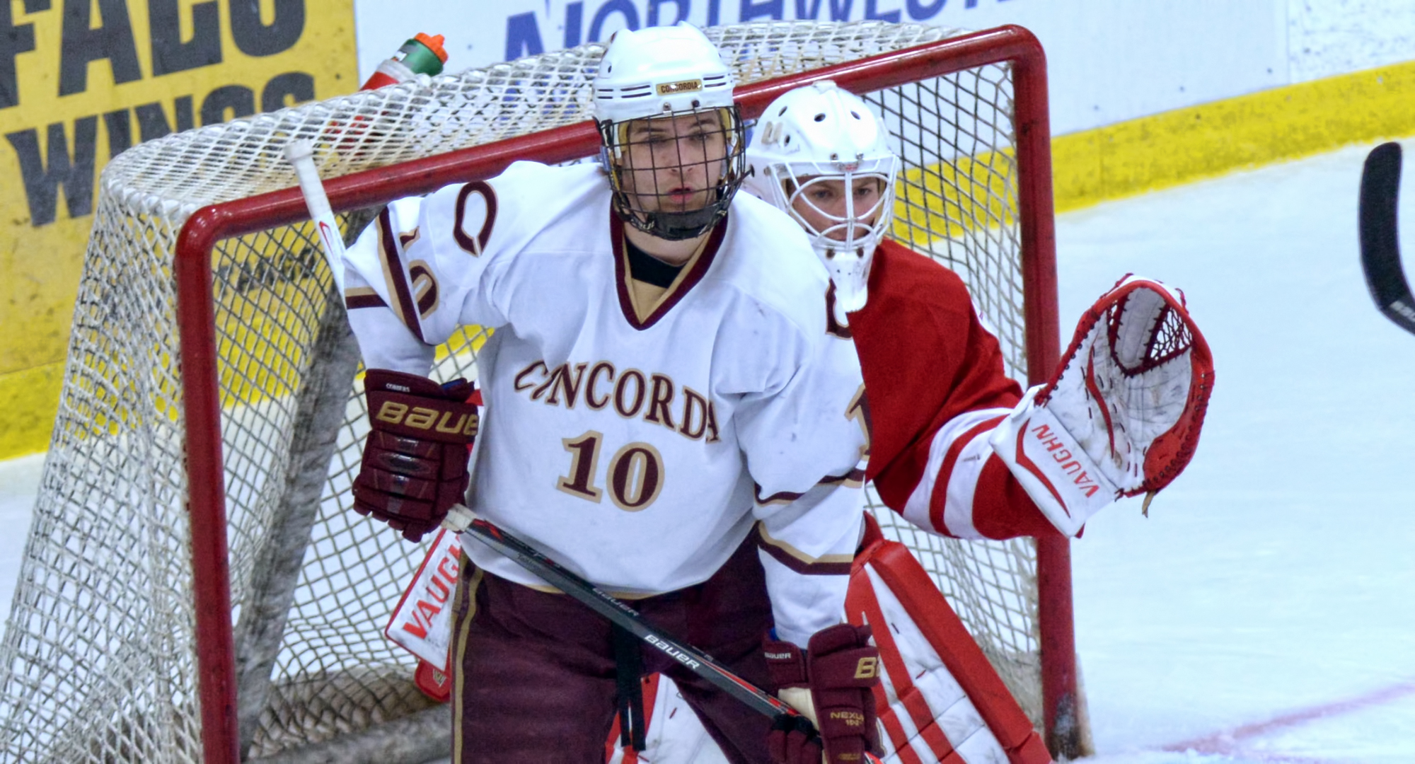 Zach Doerring scored the lone goal for the Cobbers in their series opener at St. John's.