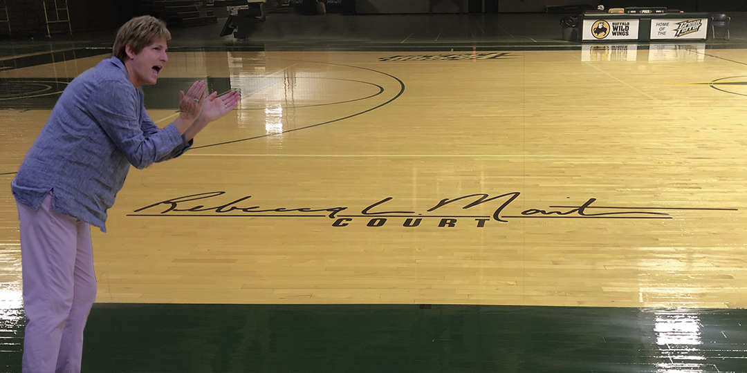 McDaniel to honor longtime coach Becky Martin with naming of Gill Center court