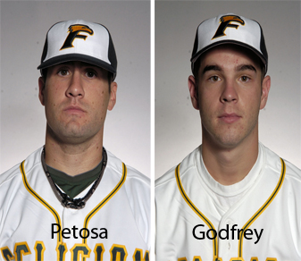 Godfrey, Petosa Earn Weekly Baseball Awards