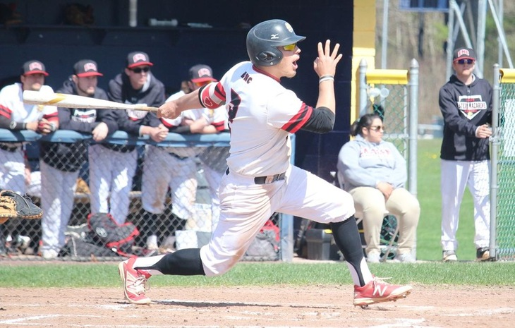 Baseball Clipped Twice by NECC Frontrunner Mitchell