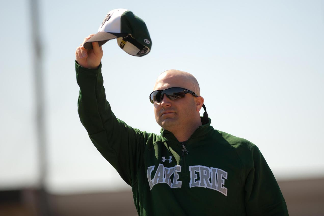 Head Coach Brian McGee (Photo by Timothy D. Sofranko)