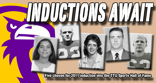 Five selected for induction into TTU Sports Hall of Fame Nov. 4