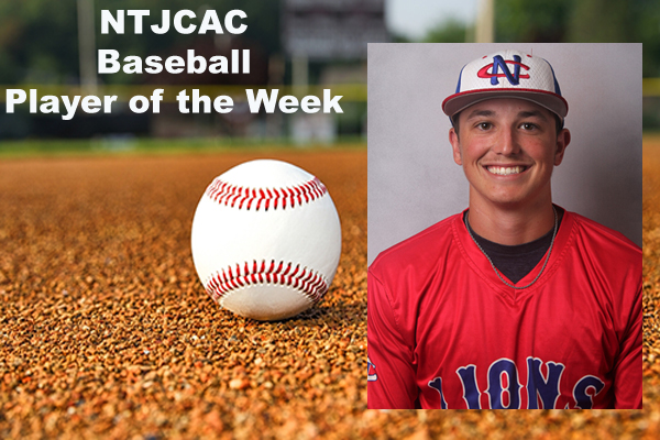NTJCAC Baseball Player of the Week (March 5)