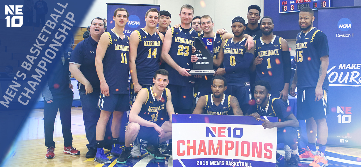 Embrace the Championship: Warriors Fight-Off Chargers to Claim NE10 Men's Basketball Crown