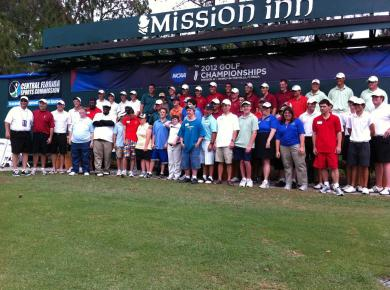 Golfers Break from NCAA Prep to School Special Olympians