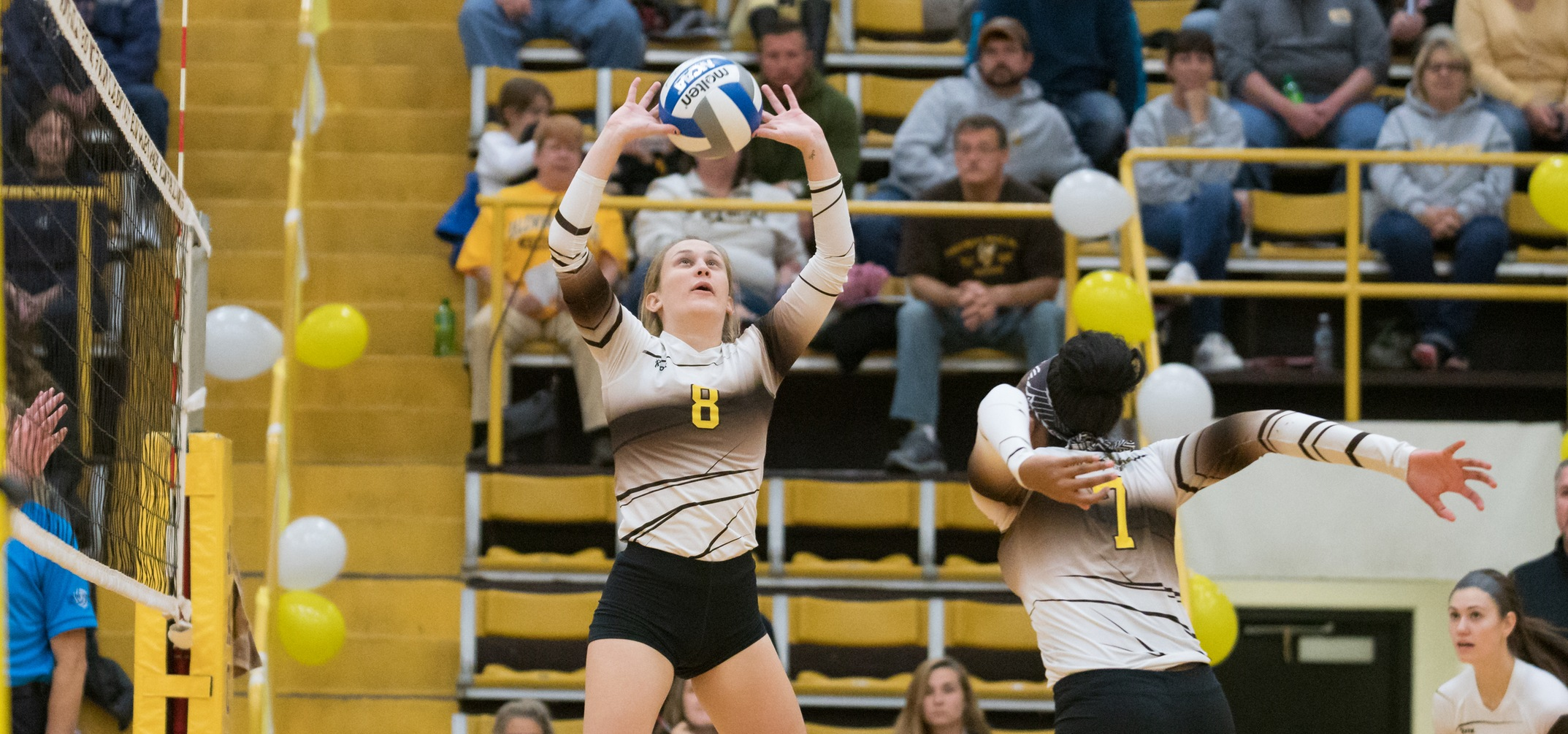 Junior setter Kathleen Egan was named to the All-Tournament team of the Blue Jay Classic