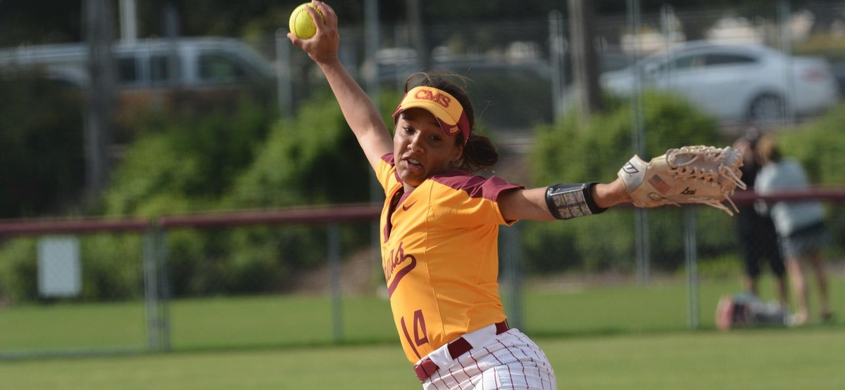 Lexi Singh picked up her first collegiate save in the nightcap