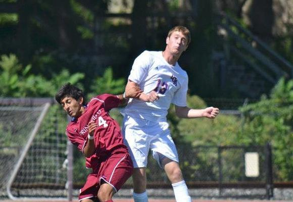 Men's soccer plays to 2OT draw, fall in PKs