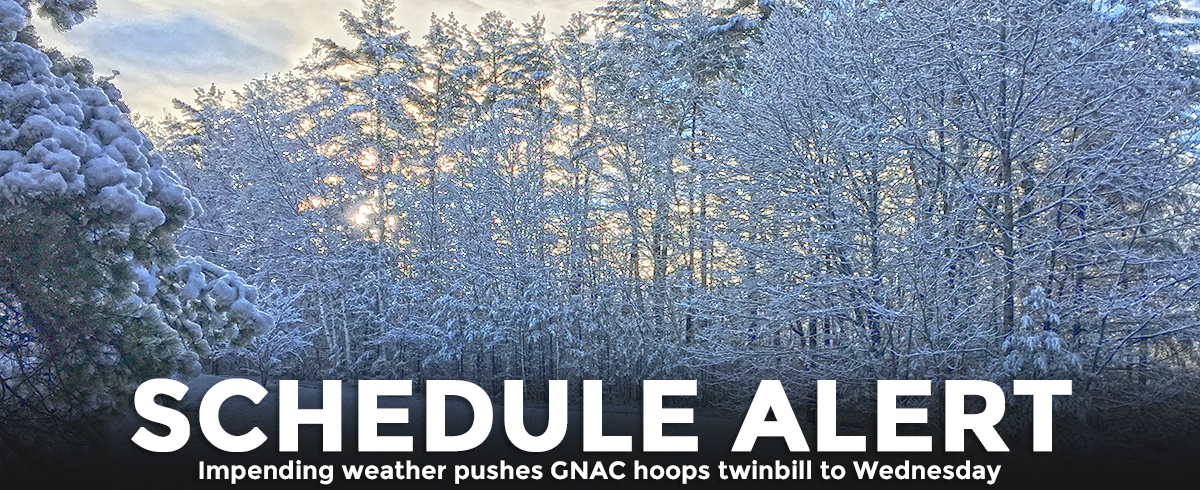 Conference Basketball Doubleheader Moved Due to Impending Winter Storm