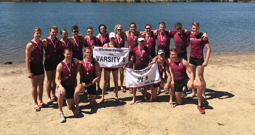 The Varsity 8 and 2nd Varsity 8 both won their races at the Western Sprints.