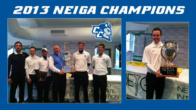 Men's Golf Wins NEIGA Championship; Mullen Wins Individual Title