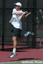 Men's Tennis Loses to 56th-Ranked New Mexico