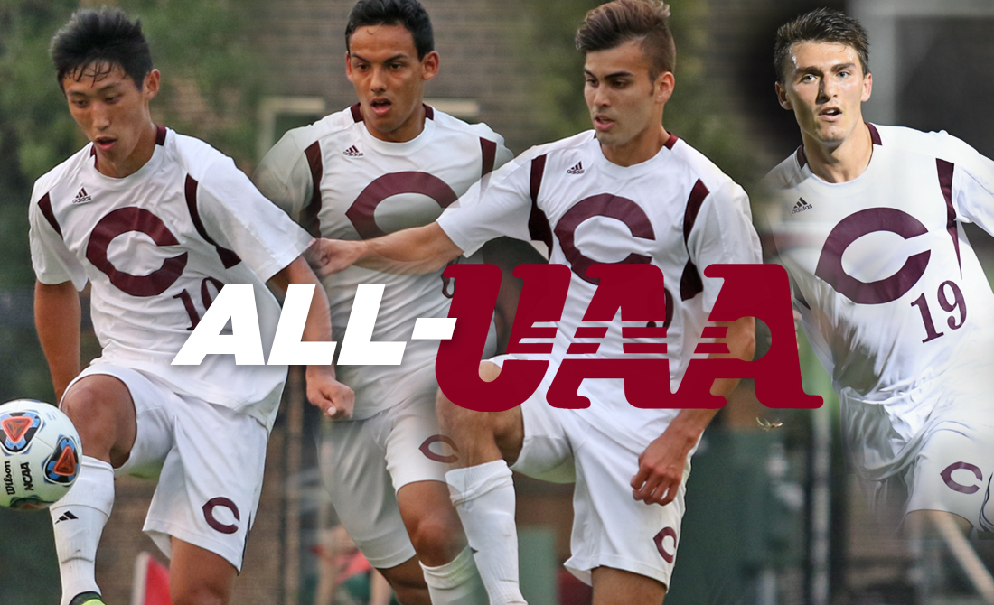 Lopez and Romero Claim Top Awards for UChicago Men's Soccer, Six Earn All-UAA Honors