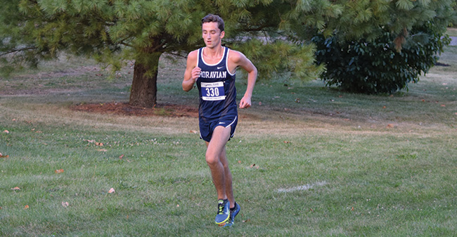 Men's Cross Country Runs at Oberlin Inter-Regional Rumble