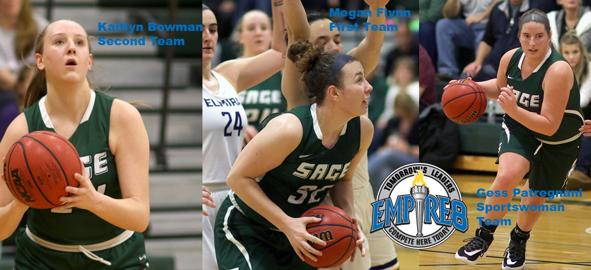 Flynn and Bowman Earns E8 First and Second Team Honors; Patregnani named to Sportswoman Team
