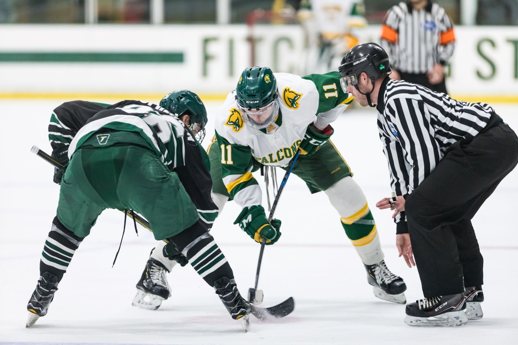 Falcons Skate to Overtime Tie with Owls