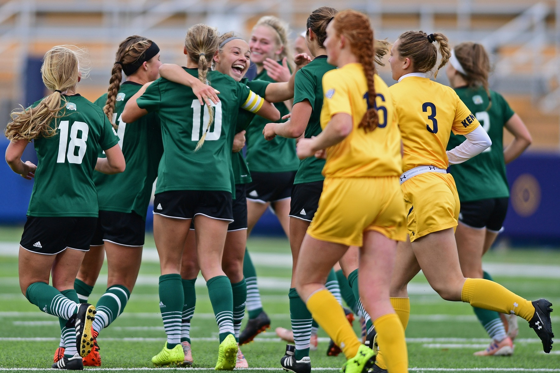No. 8 Ohio Soccer Falls to No. 1 Kent State in Penalty Kicks