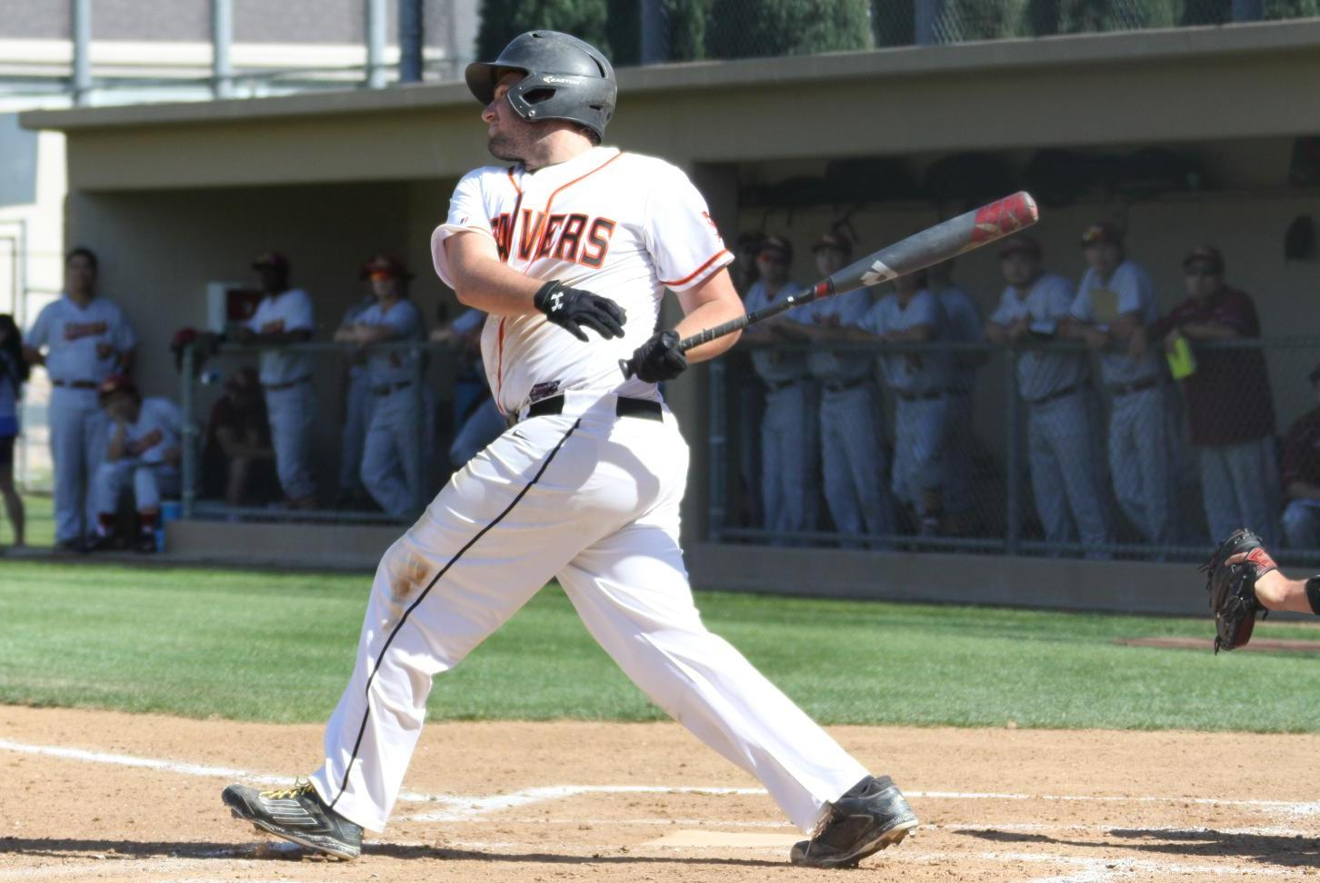 Levine Smashes Second Homer of Year Against Pomona-Pitzer