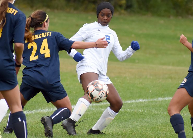 Lakers lose to Schoolcraft, 3-0