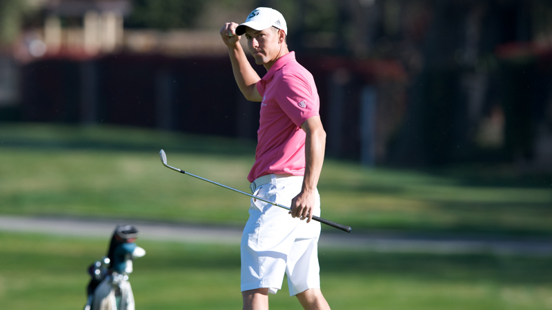 WILLIAMS TIES FOR THIRD TO LEAD MEN'S GOLF AGAIN