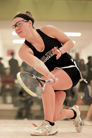 Women's Squash Competes At Yale Round Robin
